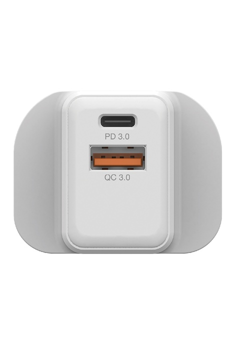 Verbatim Verbatim 20W PD & QC 3.0 雙輸出USB充電器