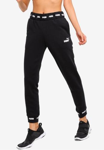 Puma black Sportstyle Core Amplified Sweat Pants TR Op 0818BAA7E56B8CGS_1