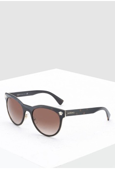 26d556c479827 Versace brown Rock Icons VE2198 Sunglasses 0C6E8GL392E6E0GS 1