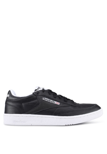 Reebok black and white Club C 85 Pro Shoes RE691SH0SW41MY_1