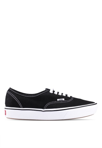 97cd5487e56 VANS black ComfyCush Authentic Classic Sneakers DB2ABSH45A4410GS 1