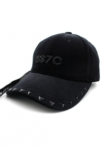 DOSSCAPS black HATER X7 Crash Velvet Cap (Black) DO290AC0RSS0MY_1