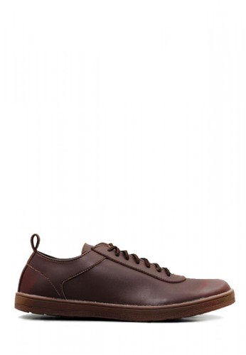 D-Island brown D-Island Shoes Casual Comfort Leather Dark Brown C72D7SHA05F394GS_1