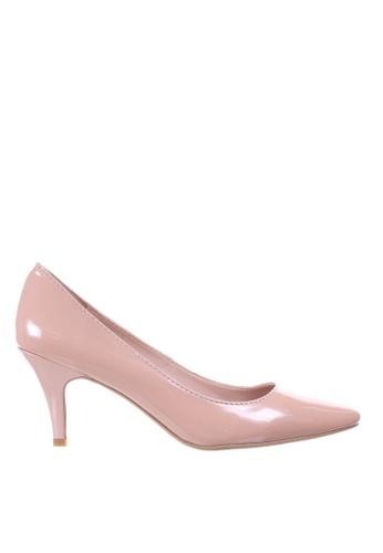PRODUIT PARFAIT pink Patent Stiletto Heel Pumps 3ACC8SH3F0776DGS_1