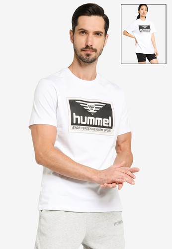 Hummel white Fresh T-Shirt 0E754AA95B2656GS_1
