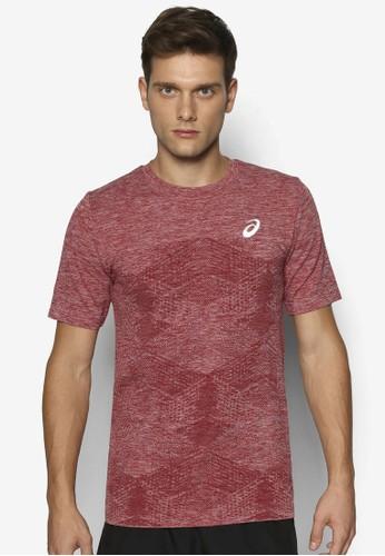 無痕暗紋短袖TEE、 服飾、 運動Asics無痕暗紋短袖TEE最新折價