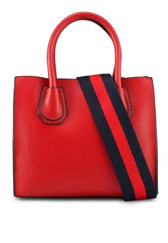 VINCCI red Top-Handle Bag 932CEACC9CF99DGS_1