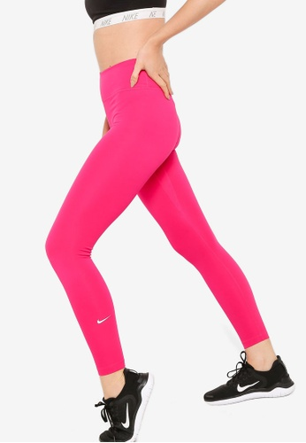Nike pink One Mid-Rise Tights 2.0 62DD1AA23AFE16GS_1