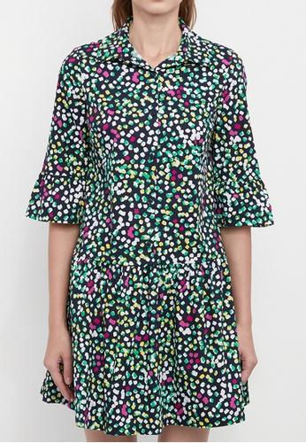 Dkny navy DKNY Women Cotton Drop Waist Shirt Dress B17CDAA1FB1717GS_1