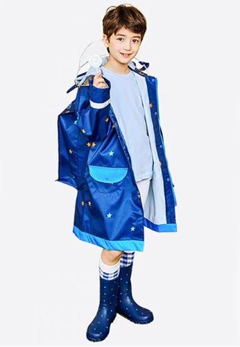 Twenty Eight Shoes navy VANSA Fashion Cartoon Raincoat VCK-R15280A 9ACD0KAF0A6D1AGS_1