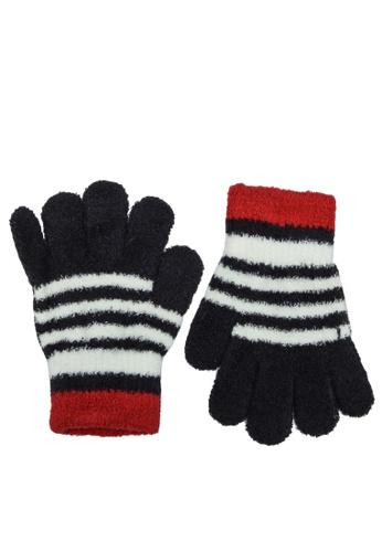 GLOBAL WORK black Winter Gloves A976EKC462CC07GS_1