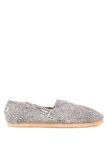Paez grey Nature Mens Slip Ons PA524SH45LECPH_1