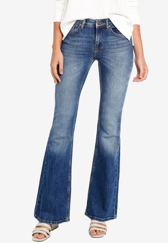 Jeans Con Dettaglio in Swarovski 15cm