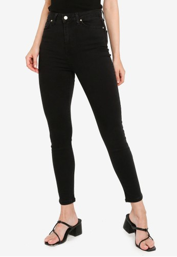 Trendyol black Black High Waist Skinny Jeans C6EECAA7CCD538GS_1