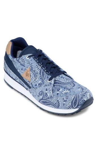 Le Coq Sportif navy Eclat Paisley Sneakers LE751SH82TFLMY_1
