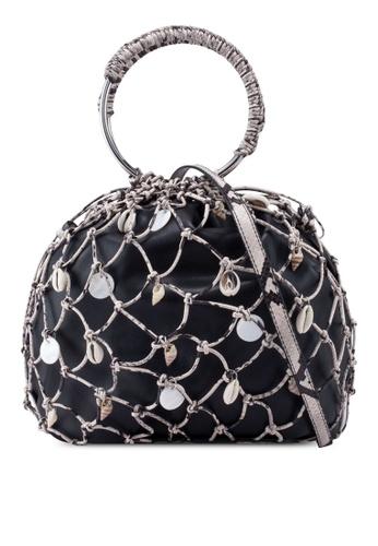 Mango black Seashell Net Bag 31464ACF9AA1DAGS_1