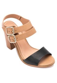 Rose Heel Sandals