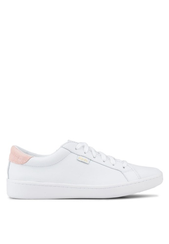 Keds white Ace Leather Sneakers KE942SH93OREMY_1