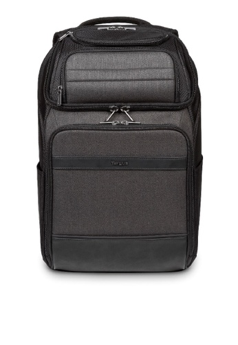 "Targus black and grey Targus 12.5-15.6"" CitySmart Professional Multi-Fit Backpack (Black) DA834ACEDB5F78GS_1"