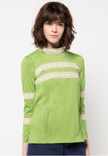 Gaff green Tina Blouse GA640AA35CIMID_1