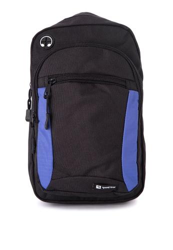 Gametime black and blue Gametime Shoulder Bag GA593AC0JTACPH_1