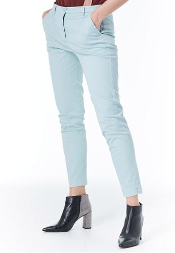 Sisley blue Slim Fit Chinos AD244AA3C0F77AGS_1