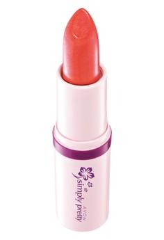 Avon Color Shiny and Sheer Lipstick in Juicy Papaya