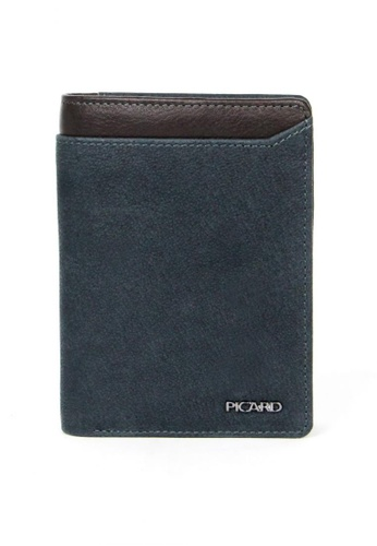 Picard blue Munich Wallet With Coin Pocket PI517AC90CGRSG_1