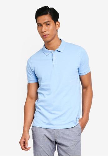 OVS 藍色 Basic POLO衫 A5768AA27C6F0AGS_1