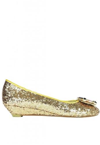 Jacque gold Tiffanie Gold Wedges BB0E8SH15995FEGS_1