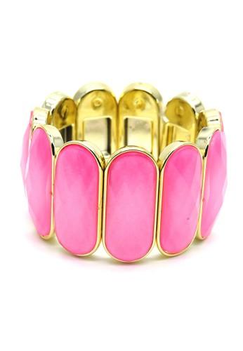 Istana Accessories Gelang Afelia Bracelet Fashion-Pink1