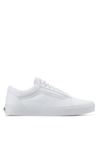 VANS white Core Classic Old Skool Sneakers VA142SH61SDAMY_1