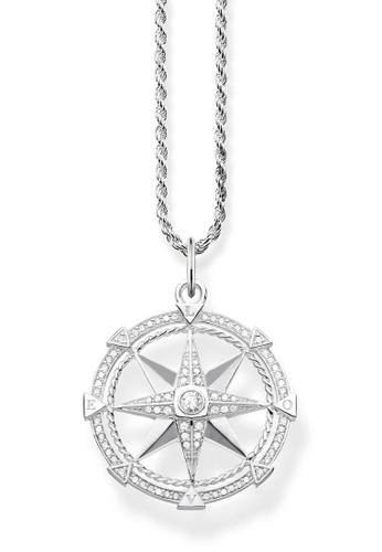 "THOMAS SABO silver necklace ""compass"" 0487EACAFB2F7EGS_1"