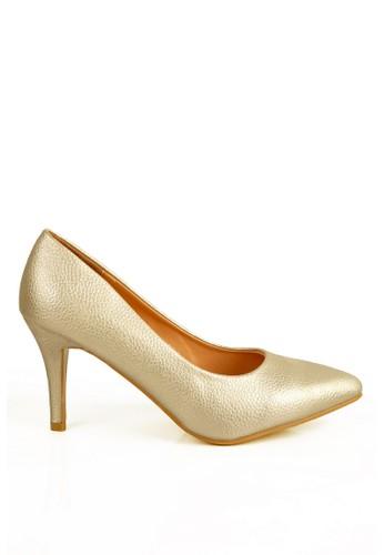BETTINA gold Bettina Heels Calla Gold BE073SH09PZYID_1