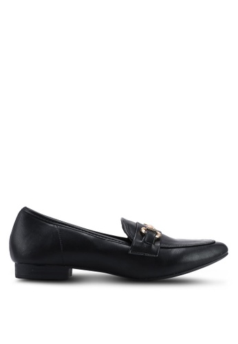 b3f44f16b71 Buy Dorothy Perkins Black Lilo Snaffle Loafers Online on ZALORA ...