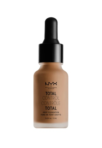 NYX Professional MakeUp brown NYX PROFESSIONAL MAKEUP Total Control Drop Foundation - Cinnamon CD25EBE76C9C2FGS_1