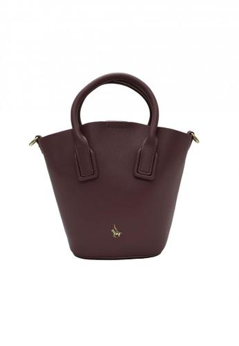 POLOVENZI purple POLOVENZI Ladies Hand Bag + Free Gift AF962AC596B6E8GS_1