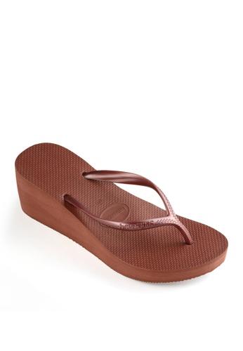 Havaianas brown Havaianas High Fashion Sandals 8FC03SH4E7F727GS_1