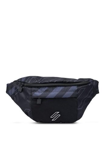 Superdry black Sport Style Nrg Aop Bum Bag - Sportstyle Code B3C8CACA4D1862GS_1
