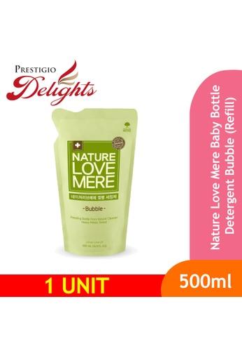 Prestigio Delights black Nature Love Mere Baby Bottle Detergent Bubble (Refill) 500ml CCEBDESB8C93A4GS_1