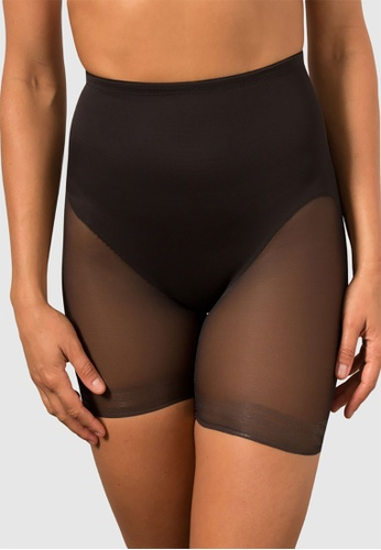 Miraclesuit black Sheer Shaping Sheer X-Firm Derrire Lift Boyshort 4625CUS65F8173GS_1