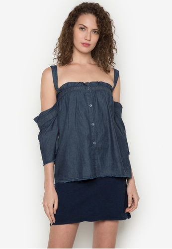 315a75b569df6 Shop BENCH Off Shoulder Top Online on ZALORA Philippines