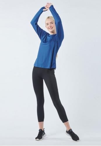 AVIVA blue AVIVA Veronica Women Long Sleeve Active Tops 30DABAA8DA46ACGS_1