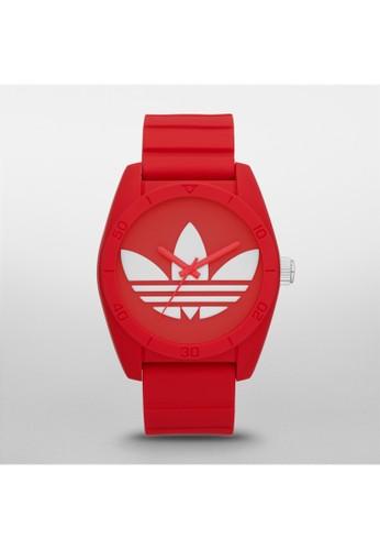 Santiaesprit台灣門市go三葉草運動腕錶 ADH6168, 錶類, 運動型