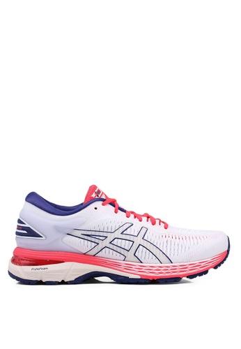 Asics white Gel-Kayano 25 Shoes 24310SH4F42401GS_1