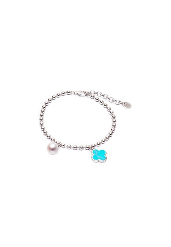Pearly Lustre silver Pearly Lustre Elegant Freshwater Pearl Bracelet WB00008 46000AC3BAAF08GS_1