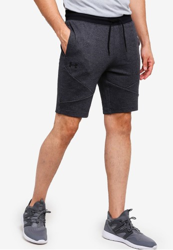 Under Armour black Unstoppable 2X Knit Shorts BD78AAAEBDAFA3GS_1