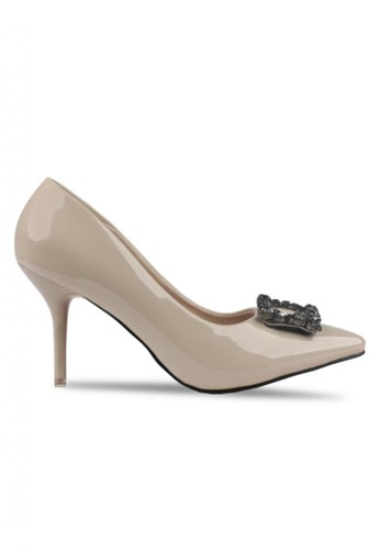 Sepatu High Heels Claymore V68 - 09 - Apricot