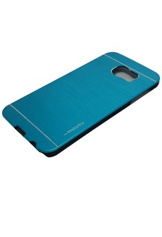 Sleek Metal Case for Samsung Galaxy S6 (Blue)