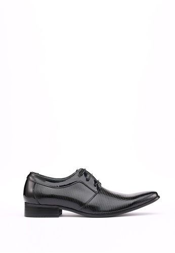 Kings Collection black Bianco Plain Toe Derby 7337FSH7CA1FEDGS_1